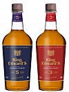 "Brand new! 3-year-old and 5-year-old whiskey ""King Edward᾿s""!"