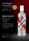 "Gvardia LLC brings award-winning premium vodka  ""Belaya Rus"" to the United States."